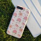 原創oppor11s春夏手機殼r9s水蜜桃粉色保護套r15網紅款ins少女r17 店慶降價