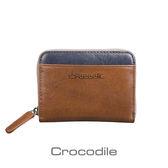 Crocodile Naturale 系列 Easy 輕巧拉鍊零錢包 0103-08105-02