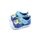 鯊魚寶寶 BABY SHARK 休閒布鞋 藍色 魔鬼氈 小童 童鞋 PIKK96806 no886