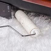 粘毛器可撕式紙可伸縮桿粘塵紙灰塵衣服頭發16cm沾毛滾刷除塵滾筒【小梨雜貨鋪】