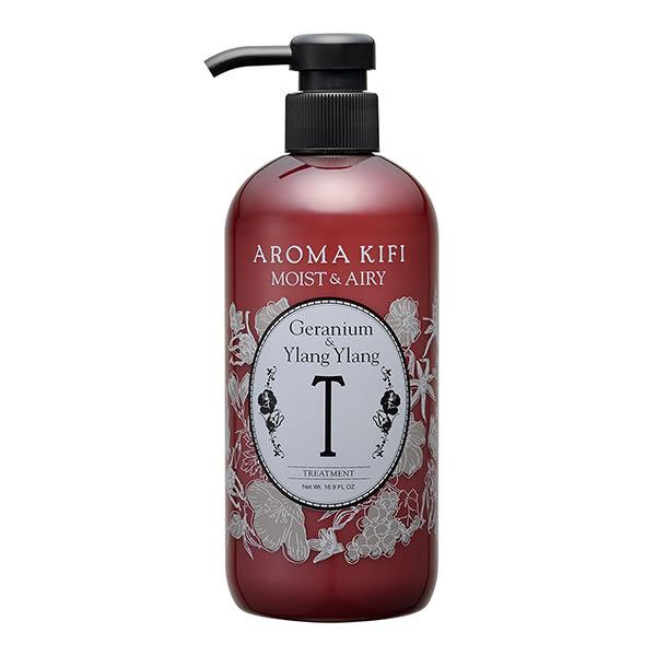 《日本製》AROMA KIFI 植粹輕盈護髮乳-伊蘭伊蘭香 500ml【無矽靈】  ◇iKIREI