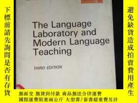 二手書博民逛書店The罕見Language Laboratory and Modern Language TeachingY1