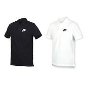 NIKE 男短袖針織POLO衫(短袖上衣 慢跑 路跑≡體院≡ 909747