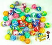 彈力球 彈跳球 直徑3cm±4mm 多種花色 1包/200顆 玩具 台灣製造彈力球 陽昇國際