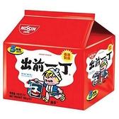 出前一丁 麻油味速食麵 100g*5/袋【愛買】