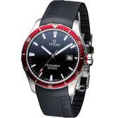 TITONI SEASCOPER系列 潮流潛水機械錶-83985SRB-RB-517