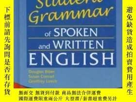 二手書博民逛書店The罕見Longman s Student Grammar Of Spoken And Written Engl