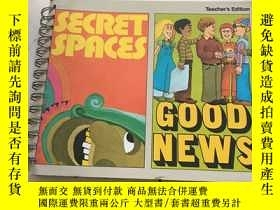 二手書博民逛書店Secret罕見Spaces Good News(Teacher