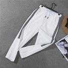 九分褲 冰絲棉麻褲子女夏2020新款薄款學生運動褲寬鬆直筒九分哈倫休閒褲