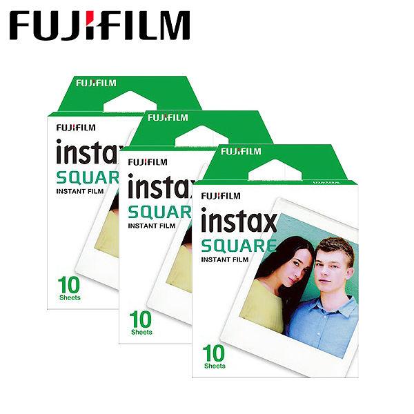 【3盒組】Fujifilm Instax Square Film 空白 拍立得底片〔SQ10 SP-3 專用底片〕