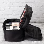 化妝包小號便攜韓國簡約大容量旅行隨身少女心品收納袋『艾麗花園』