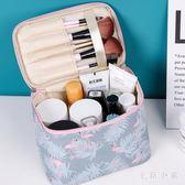 化妝包簡約隨身便攜少女袋收納盒品2019大容量箱 DJ8216『毛菇小象』