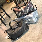 618好康又一發旅行袋旅行包女手提大容量行李袋短途出差行李包輕便防潑水肩背包包健身包男