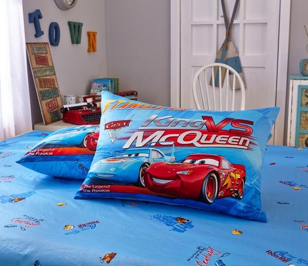 標準雙人床包組 迪士尼床包 汽車總動員 閃電麥坤 卡通床包 公主床包 床包訂製 Disney授權 佛你
