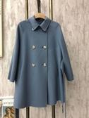 現貨出清特價優雅淑女韓版內鋪棉綁帶修身西裝外套-M藍色(扣子已實拍照為主)