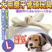 ~zoo 寵物商城~DYY ~犬用磨牙耐咬PP 樹脂骨頭玩具L 號