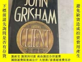 二手書博民逛書店The罕見Client(16開)精裝Y13534 John Gr