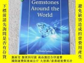 二手書博民逛書店Gemstones罕見Around the World(Scie