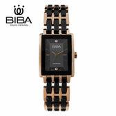 法國 BIBA 碧寶錶 純粹晶瓷系列 藍寶石玻璃 石英錶 B31BC203B 黑色 - 22 X 32.0mm