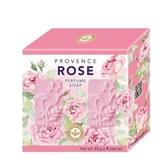 普羅旺斯玫瑰精油香氛皂80g*4【愛買】