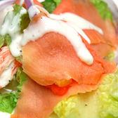 【屏聚美食】嫩切煙燻鮭魚(100g/包)_買2件以上每件↘135元