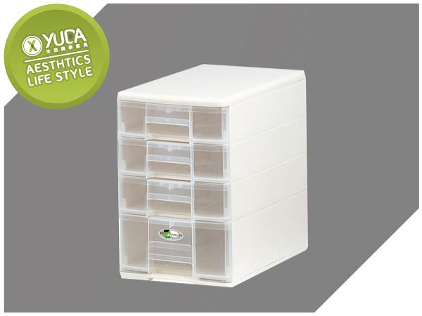 【YUDA】樹德 B5-PC13 (4抽)四色隨機配送  收納玲瓏盒 / 文件盒 / 收納盒