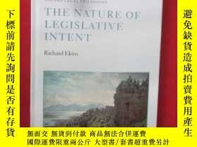 二手書博民逛書店The罕見Nature of Legislative Inten