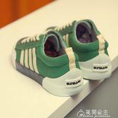 新款夏季帆布鞋男韓版板鞋青春潮流學生百搭休閒布鞋子男潮鞋花間公主
