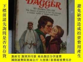 二手書博民逛書店love s罕見fiery dagger 英文原版1978年,書
