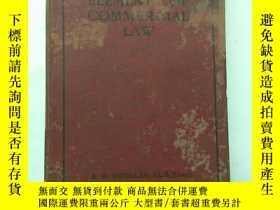 二手書博民逛書店THE罕見ELEMENTS OF COMMERCIAL LAW(