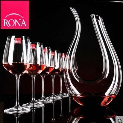 水晶玻璃高腳杯 醒酒器掛杯架子 紅酒杯 套裝