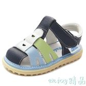 2018夏季新款防滑寶寶涼鞋男1-2-3歲軟底嬰兒公主鞋兒童涼鞋女  enjoy精品