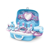 《 Disney 迪士尼 》冰雪奇緣化妝手提箱╭★ JOYBUS玩具百貨