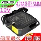 ASUS 90W 充電器(原廠)-19V 4.74A R550,F450,F550,R505,R405,R506,R507,R406,R407,R408,PA-1900-24