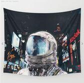 迷失紐約時代廣場的宇航員太空人超現實旁白裝飾布掛布ins風宇宙  萬聖節禮物