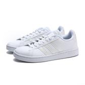ADIDAS 休閒鞋 GRAND COURT 小白鞋 漆皮 白線 女 (布魯克林) EE8172