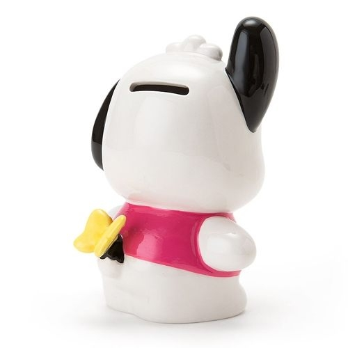 【震撼精品百貨】Pochacco 帕帢狗~蝴蝶翹屁屁系列陶磁造型存錢筒87577