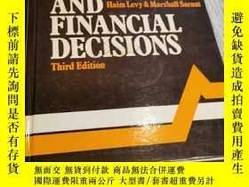二手書博民逛書店CAPITAL罕見INVESTMENT AND FINANCIAL DECISIONSY393443 HAIM