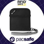 【Pacsafe 澳洲 RFIDsafe V100 防盜錢夾《黑》】10556/錢包/皮夾/安全皮包/隨身包/短夾/防搶