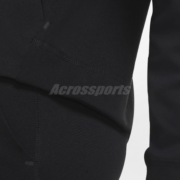 Nike 外套 NSW Tech Fleece Windrunner 黑 灰 女款 連帽外套 棉質 運動休閒 【ACS】 CW4299-010
