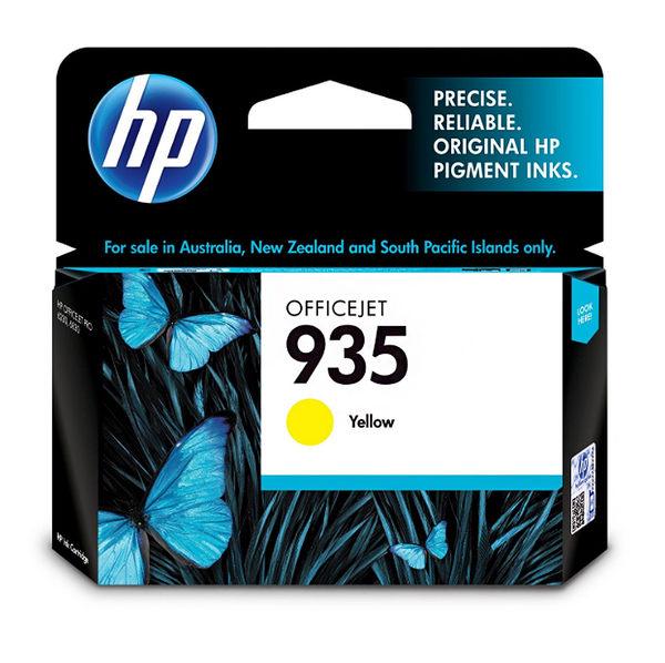 C2P22AA HP 935 黃色墨水匣 適用 OJ Pro 6230e / OJ Pro 6830e/6835e