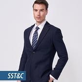 SST&C 男裝 藏青單西外套 | 0612010001