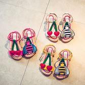 2018夏季新可愛兒童沙灘時尚甜美防滑兒童涼鞋 JA1308『美鞋公社』