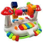 嬰兒童早教搖鈴旋轉床鈴6-12個月男孩女寶寶益智力玩具1-2-3周歲YYS    易家樂