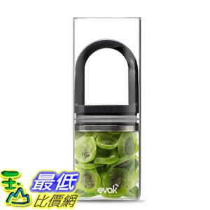 [106美國直購] Prepara PP09-EDLGBK EVAK 密封罐 黑L (單入) 咖啡豆 茶葉適用