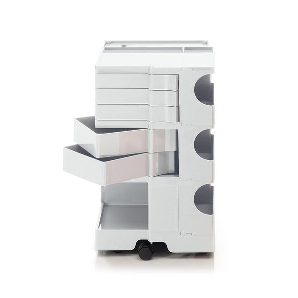 B-Line Boby Storage Trolly System Mod.M H73.5cm 巴比 多層式系統 收納推車 - 高尺寸 (五抽屜收納) 白色款