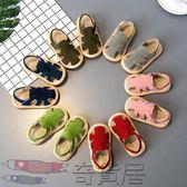 嬰兒鞋子軟底幼學步鞋男包頭寶寶涼鞋女
