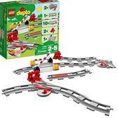 LEGO 樂高 DUPLO Train Tracks 10882 Building Blocks (23 Piece)