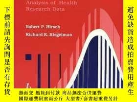 二手書博民逛書店Statistical罕見Operations: Analysis of Health Research Data