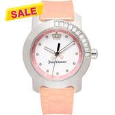 Juicy Couture 晶鑽色彩美人腕錶-粉 J1900734